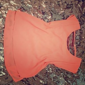 💕💕cute neon peach top💕💕